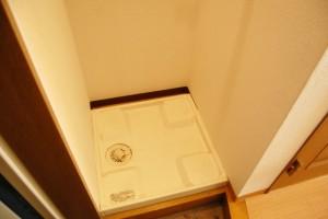 洗面所リフォーム 洗濯機画像