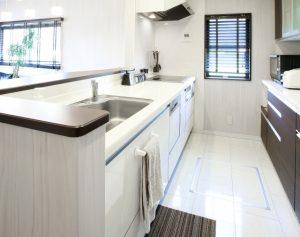 台所 リフォーム 床イメージ画像